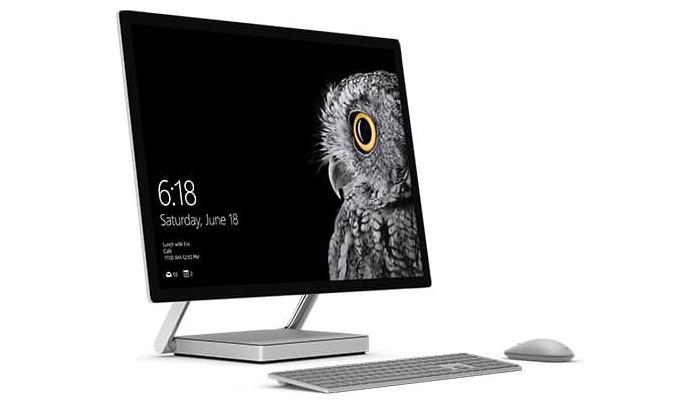 Microsoft показала 28-дюймовый компьютер-моноблок Surface Studio для дизайнеров