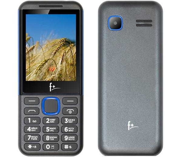 В РФ начались продажи кнопочного телефона F+ F280 с довольно крупным дисплеем