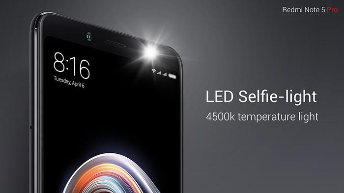 Xiaomi анонсировала смартфон среднего класса Redmi Note 5 Pro с батареей на 4000 мАч и камерой в стиле iPhone X