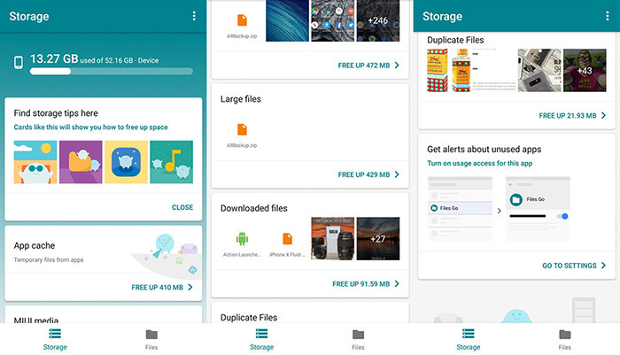 Google разработала бесплатный файл-менеджер для Android