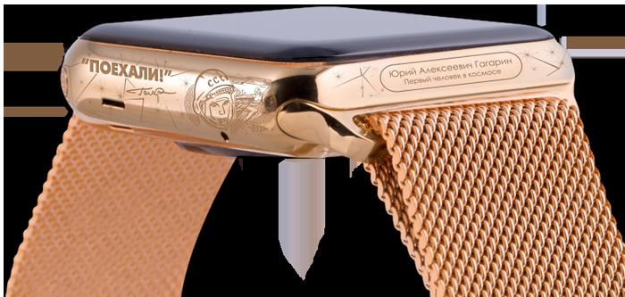 Создана лимитированная коллекция часов Apple Watch Caviar ко дню рождения Владимира Путина