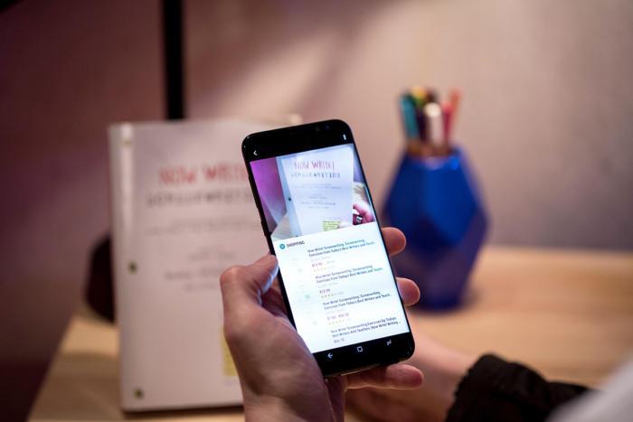 Samsung Galaxy S8 pLus обзор Bixby