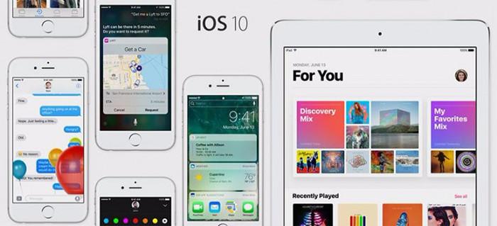 Состоялся релиз iOS 10 и watchOS 3