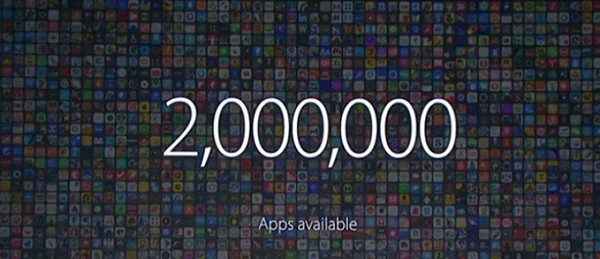 WWDC 2016. Количество приложений в App Store превысило 2 млн