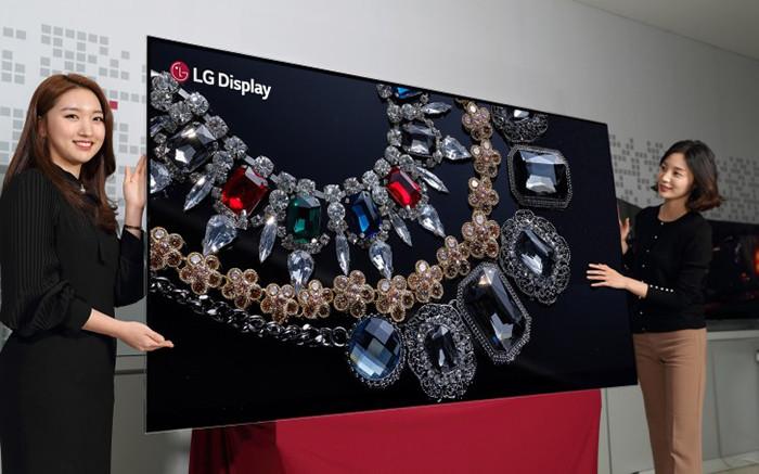 CES 2018. LG представляет первую в мире 88-дюймовую OLED-панель с разрешением 8K