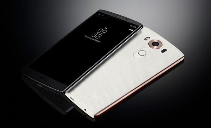 Представлен смартфон LG V10 с двумя экранами и двумя фронтальными камерами