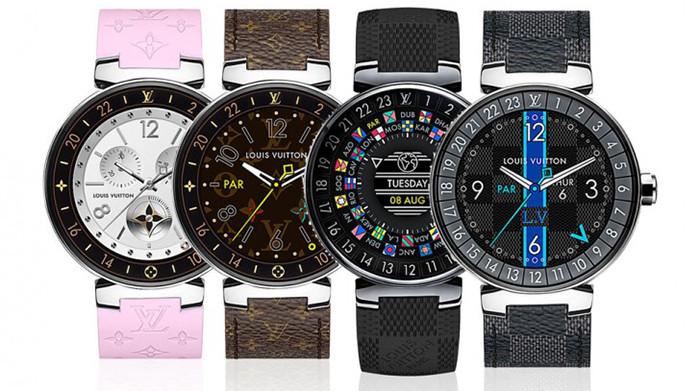 Louis Vuitton выпустил часы на Android Wear ценой от 2450 долларов