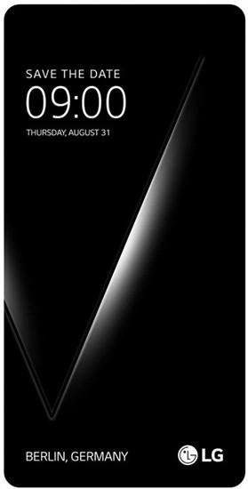 Названа дата презентации «технологического флагмана» LG V30