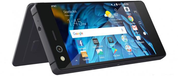 ZTE Axon M: необычный смартфон-трансфомер с двумя экранами