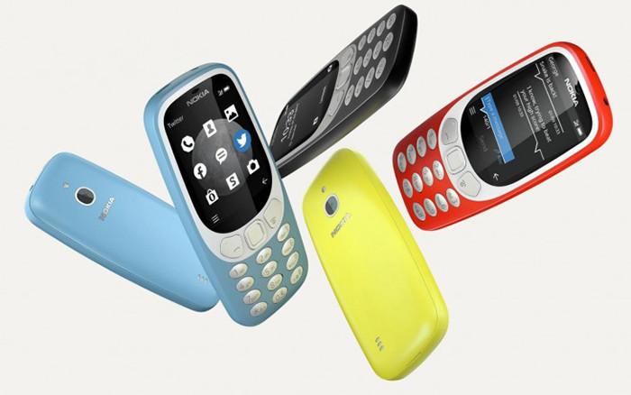 Представлена новая улучшенная версия Nokia 3310 образца 2017 года