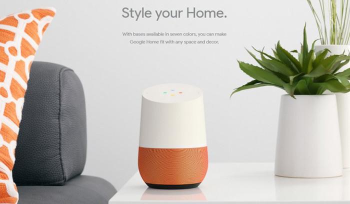 Google анонсировала колонку Home и донгл Chromecast Ultra