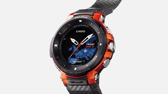 IFA 2018. Неубиваемые умные часы Casio на Wear OS могут проработать без подзарядки до месяца