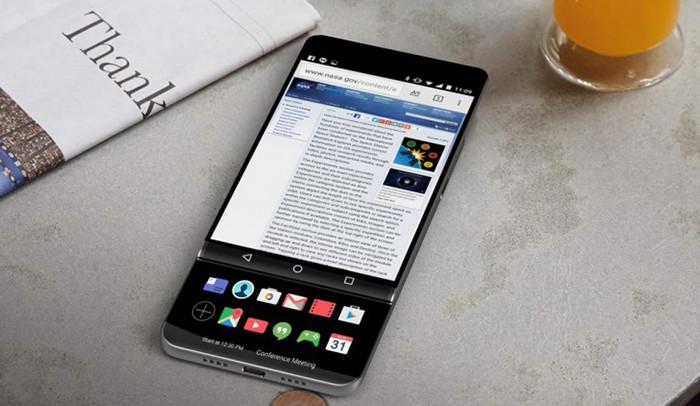 LG может выпустить флагманский смартфон в формфакторе «слайдер»