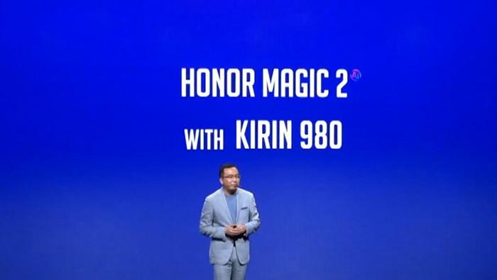 IFA 2018. Huawei рассказала о необычном раздвижном смартфоне Honor Magic 2