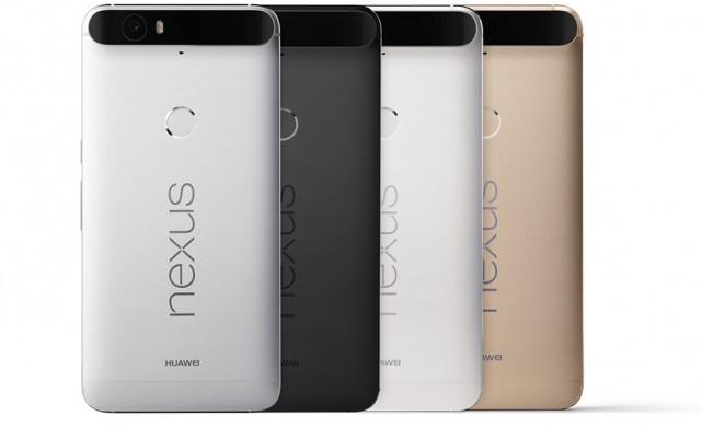 Представлен 5,7-дюймовый смартфон Huawei Nexus 6P