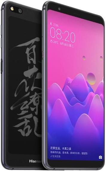 MWC 2019. HiSense показала клон YotaPhone с экранами AMOLED и E Ink