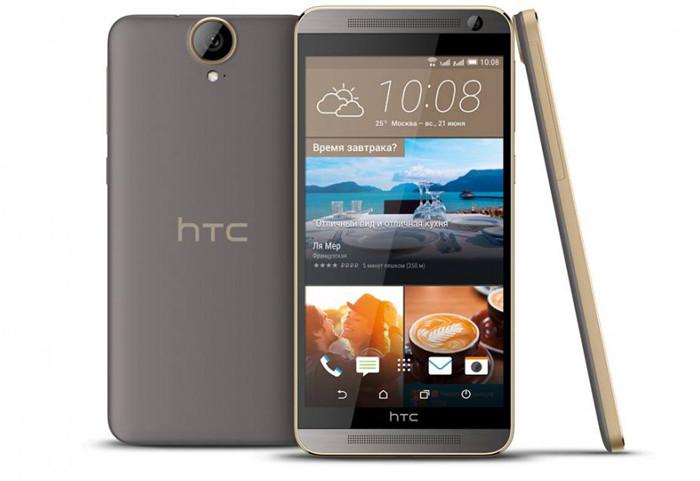 Начались российские продажи 5,5-дюймового смартфона HTC One E9+