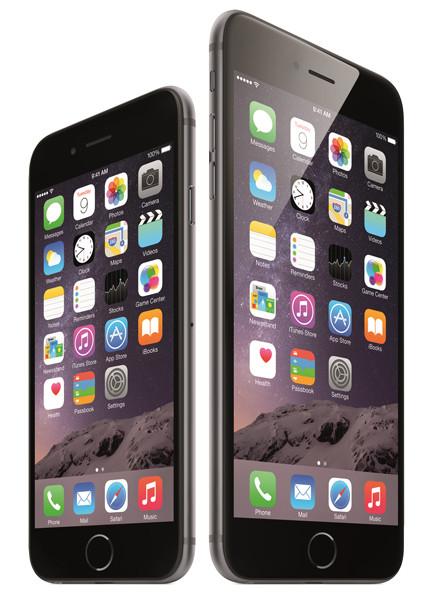 Представлены iPhone 6 и iPhone 6 Plus