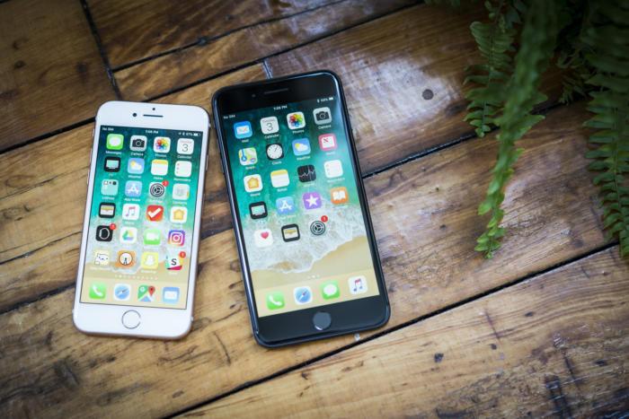 сравнение iphone 8 и iphone 7