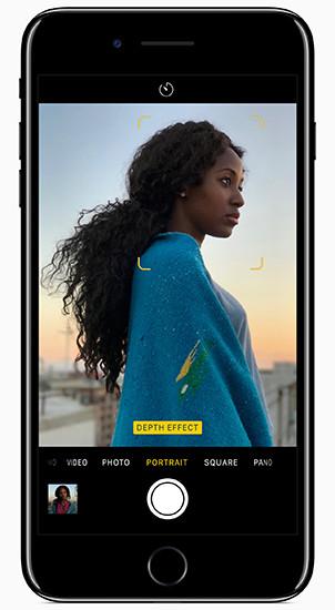 Обновление iOS 10.1 добавляет в iPhone 7 Plus режим портрета с эффектом боке