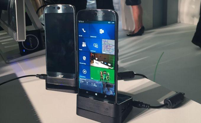 Смартфон Acer Jade Primo на Windows 10 будет поставляться с мышью и клавиатурой