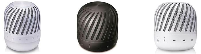 LG привезла в Россию водоустойчивые 360-градусные Bluetooth-колонки PJ2 и PJ3