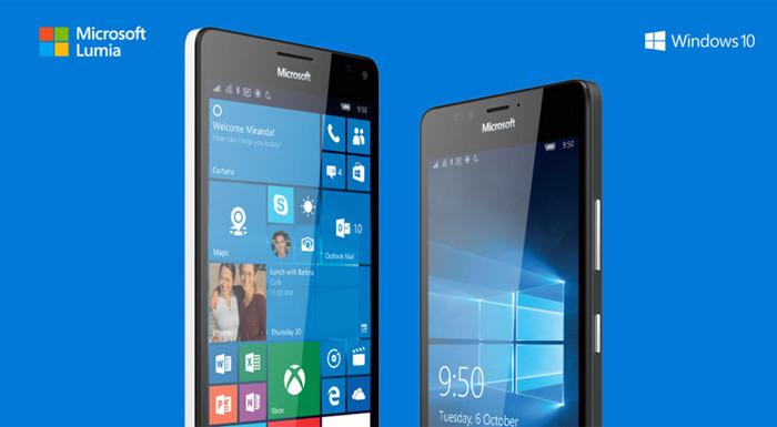 Названы российские цены флагманских смартфонов Microsoft Lumia 950 и 950 XL