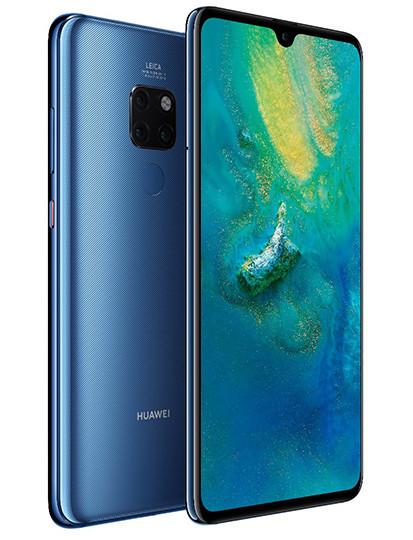 Huawei представила смартфоны Mate 20 с кучей новых технологий и необычных решений