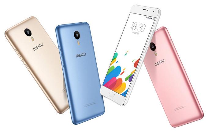 Анонсирован недорогой смартфон Meizu Blue Charm Metal в металлическом корпусе