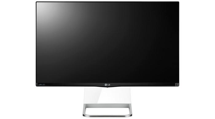 LG MP77: ЖК-монитор с IPS-экраном и прозрачной подставкой