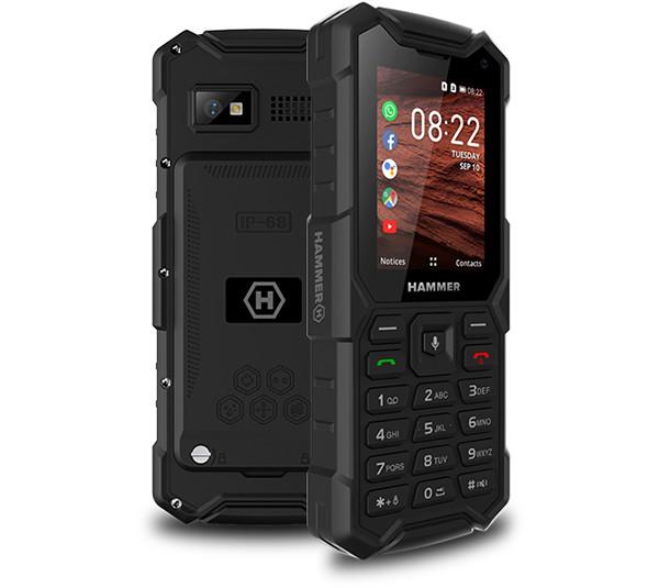 Кнопочный телефон myPhone Hammer 5 Smart не боится воды и позволяет общаться в WhatsApp