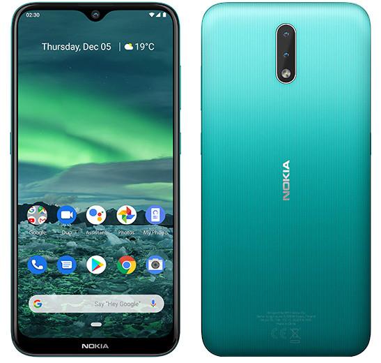 Премьера: Представлен дешевый смартфон Nokia 2.3 с чистой версией Android и мощным аккумулятором