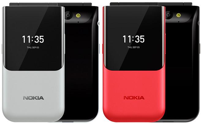 В России скоро появятся две новые версии кнопочного раскладного телефона Nokia 2720 Flip с LTE и Wi-Fi