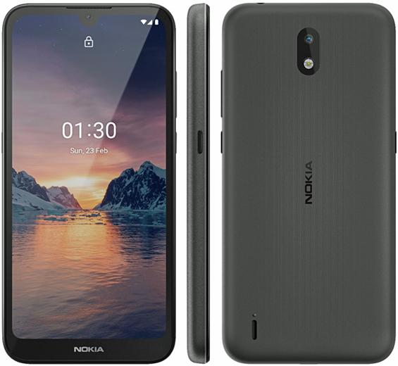 Премьера: Представлен ультрабюджетный смартфон Nokia 1.3 с Android 10