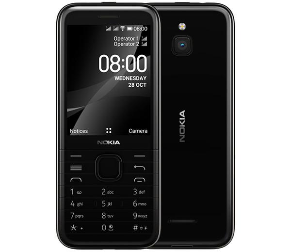 Начинаются российские продажи кнопочного телефона Nokia 8000 4G с LTE, GPS, Wi-Fi и Facebook