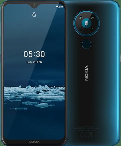 Премьера: Недорогой смартфон Nokia 5.3 получил огромный экран и аккумулятор на 4000 мАч