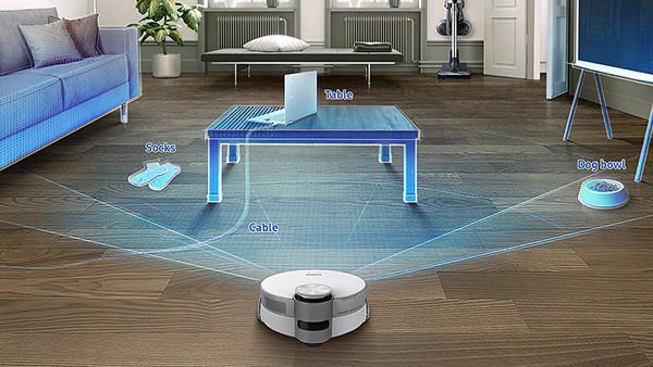 В Россию приехал Samsung Jet Bot AI+ – робот-пылесос с камерой и уникальной системой распознавания объектов