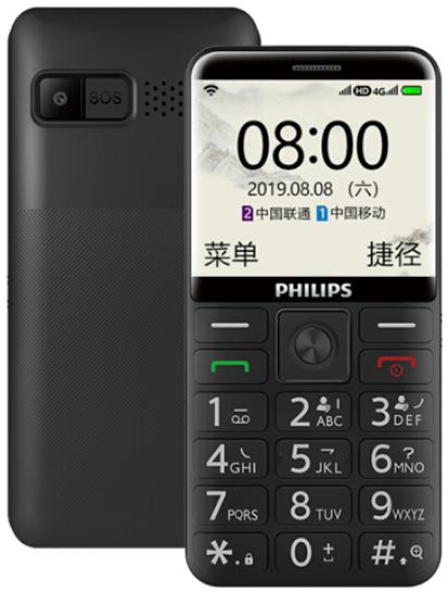 Премьера: Недорогой кнопочный телефон Philips E525 на базе Android поддерживает LTE и Wi-Fi