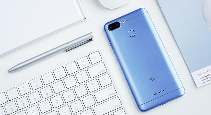 Бюджетные смартфоны Xiaomi Redmi 6 получили систему разблокировки по лицу и экраны формата 18:9