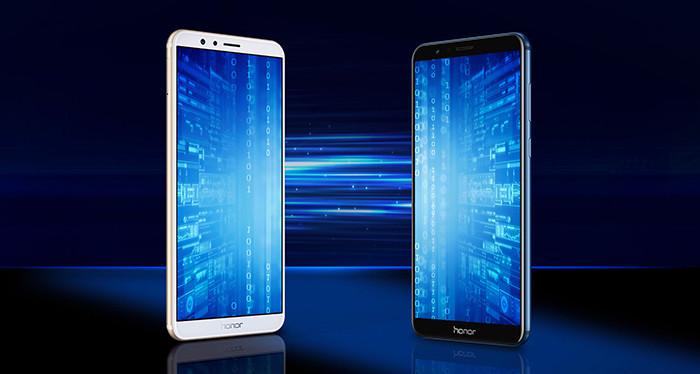 Huawei анонсировала бюджетный «безрамочный» смартфон Honor 7X