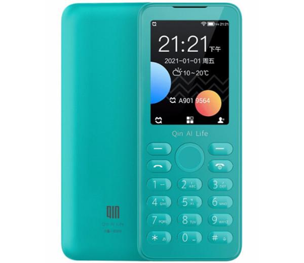Партнеры Xiaomi представили кнопочный телефон Qin F21S с Android, LTE, GPS и Wi-Fi