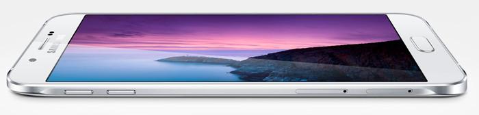 Представлен 5,7-дюймовый смартфон Samsung Galaxy A8 толщиной менее 6 мм