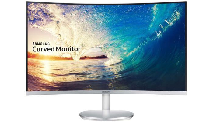 Samsung представляет изогнутые мониторы CF591 и CF390