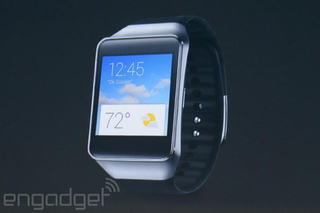 Google I/O 2014. Новые умные часы на Android Wear