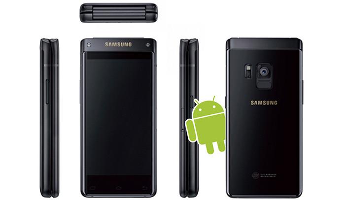 Samsung W2018: раскладной смартфон с двумя AMOLED-экранами