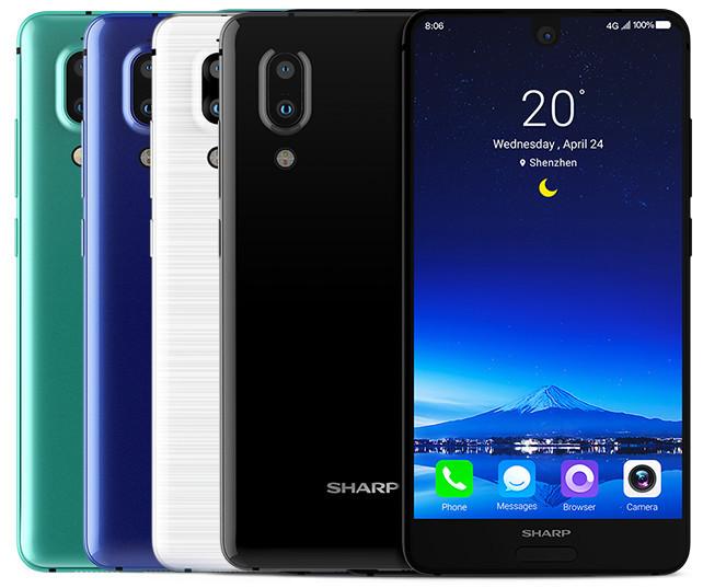 Sharp Aquos S2: японско-китайский смартфон с безрамочным экраном и двойной задней камерой