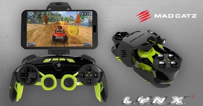 Стартовали продажи мобильного геймпада Mad Catz L.Y.N.X.