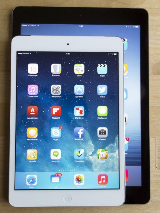 iPad Air или iPad mini с экраном Retina? Личный опыт
