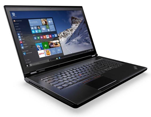 Lenovo представляет мобильные рабочие станции с процессорами Intel Xeon