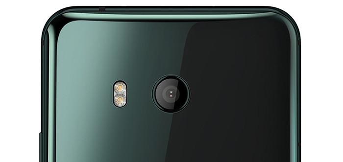 HTC U 11: флагманский стеклянный смартфон на Snapdragon 835
